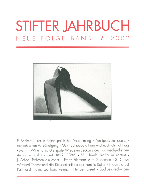 Cover Jahrbuch 2002