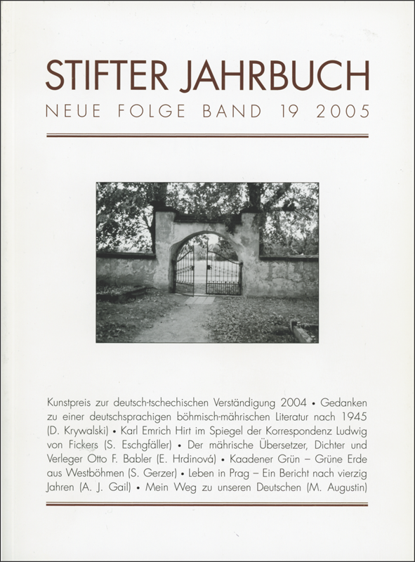 Cover Jahrbuch 19