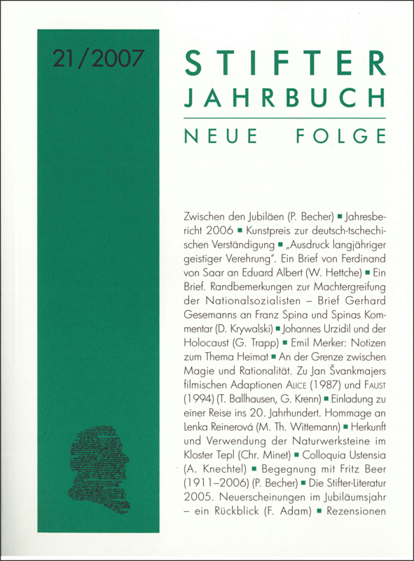 Cover Jahrbuch 21