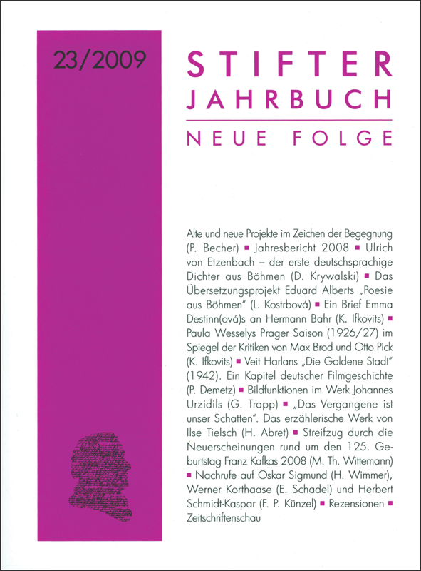 Cover Jahrbuch 23