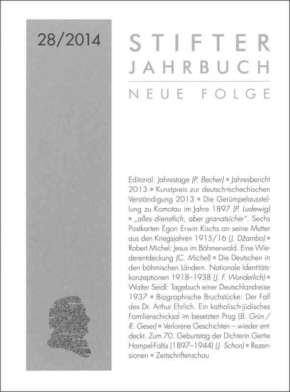 Cover Jahrbuch 28
