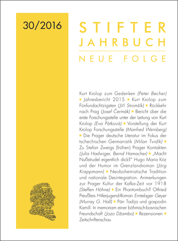 Cover Jahrbuch 30